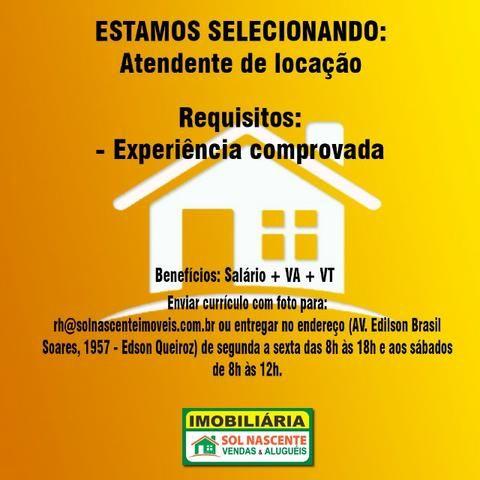 Vagas de Emprego - Imobiliária Sol Nascente - Foto 2