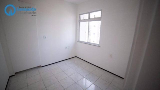 Apartamento com 3 dormitórios à venda, 99 m² por R$ 350.000 - Cocó - Fortaleza/CE - Foto 10