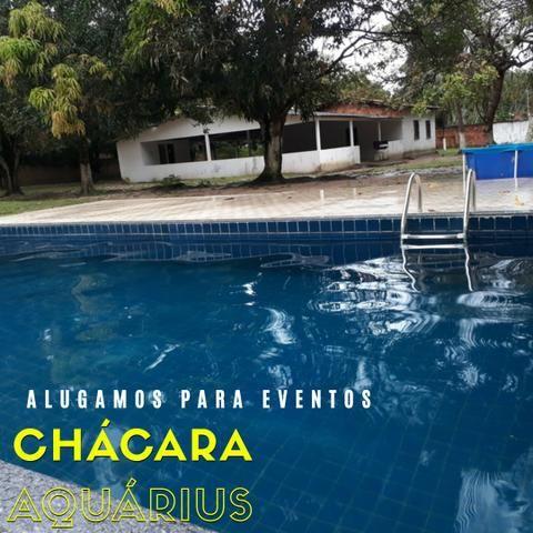 Alugo Chácara na Cidade Operária, lazer com piscina, campo de futebol e muito mais
