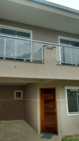 SO0381 - Sobrado com 3 dormitórios à venda, 120 m² por R$ 450.000 - Boa Vista - Curitiba/P
