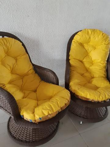 Lindas cadeiras para terraço