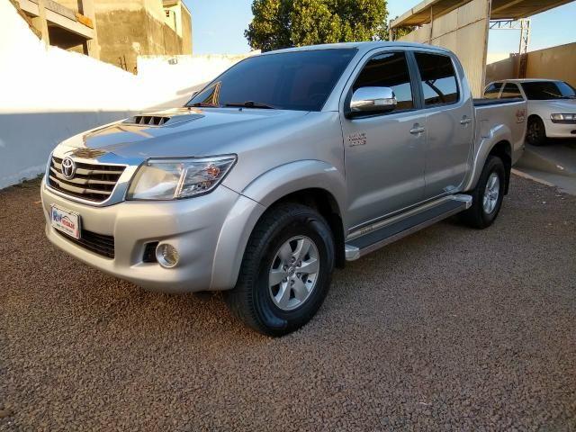 Toyota Hilux SRV 3.0 4x4 Diesel automática top - Foto 3