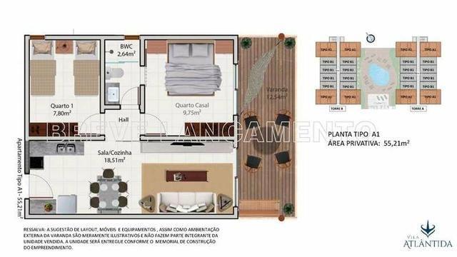 Apartamento em Luiz Correia/ Praia de Atalaia (Vila Atlântida) - Foto 19