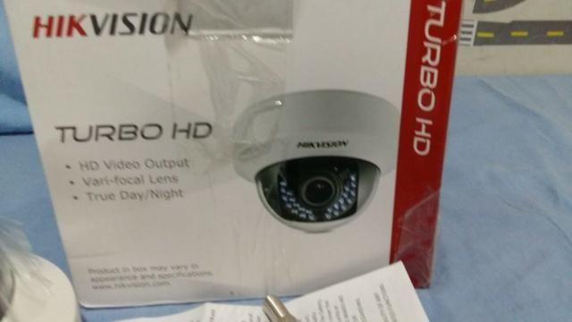 Camera De Segurança Hikvision Hd Turbo