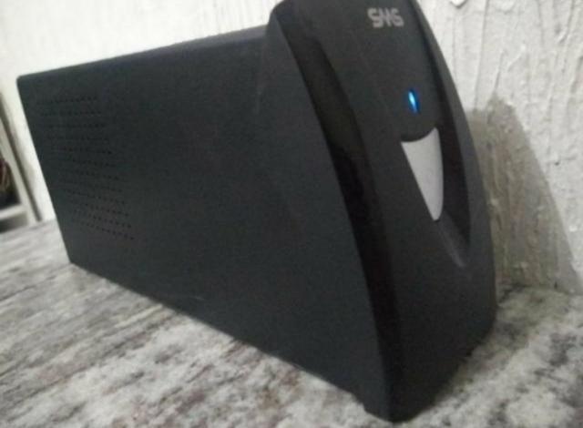 Nobreak sms 1300 va 2 bateria nova