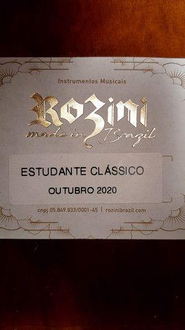 Violão Rozini estudante clássico RX201 c/ bag - Foto 4