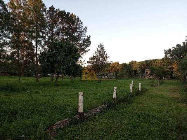 Chácara com 2 dormitórios à venda, 10000 m² por R$ 750.000,00 - Loteamento Porto Dourado - - Foto 3