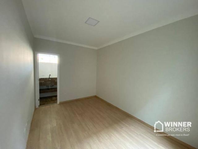 Casa com 3 dormitórios à venda, 105 m² por R$ 480.000,00 - Jardim Real - Maringá/PR - Foto 11