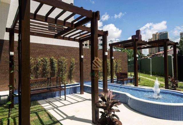 Apartamento com 3 dormitórios à venda, 90 m² por R$ 680.000 - Guararapes - Fortaleza/CE - Foto 4