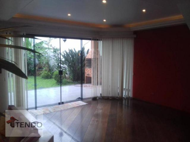 Sobrado - venda - 4 dormitórios, - 3 suítes - aluguel por R$ 4.600/mês - Vila Marlene - Sã - Foto 2