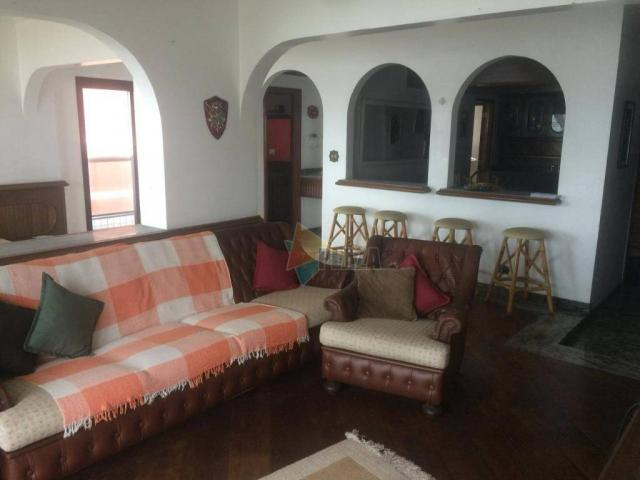 Apartamento para alugar, 210 m² por R$ 3.500,00/mês - Tupi - Praia Grande/SP - Foto 4