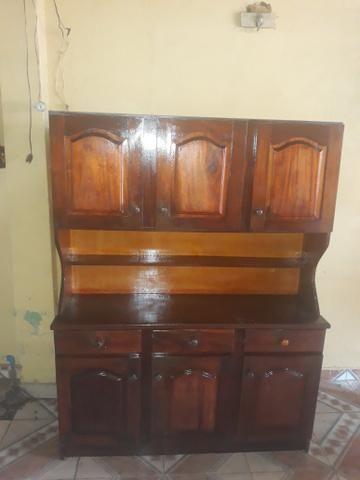 Vendo armário 400 reais de madeira maciça - Foto 2