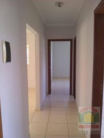 Casa com 3 dormitórios para alugar, 132 m² por R$ 1.600,00/mês - Parque Brasília 2ª Etapa  - Foto 5