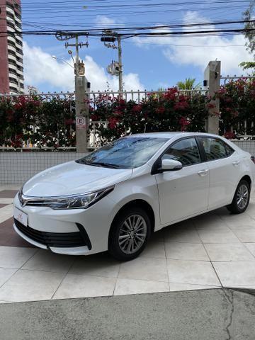 Toyota Corolla Gli Upper 2018 baixa km IPVA 2020 PAGO! - Foto 4