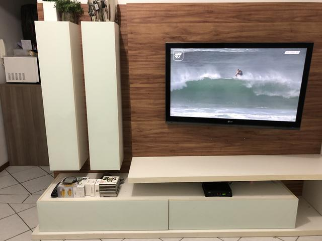 Painel Home Theater TV em MDF - Foto 3