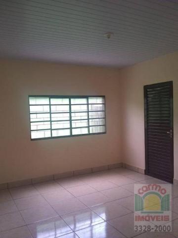 Casa com 3 dormitórios para alugar, 150 m² por R$ 950/mês - Jardim dos Ipês - Anápolis/GO - Foto 5