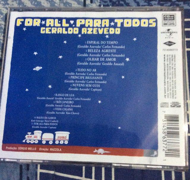 CD Geraldo Azevedo - For all para todos - Foto 2