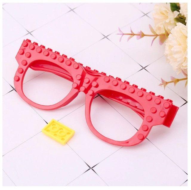 Óculos Lego + Pecinhas De Brinde Bloco De Montar Educativo - Foto 4