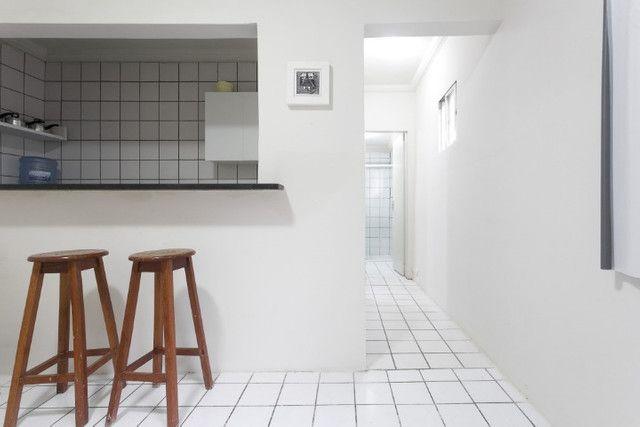 Apartamento 03B, mobiliado, sala e quarto, com WI-FI, pertinho do Carrefour - lindo - Foto 7