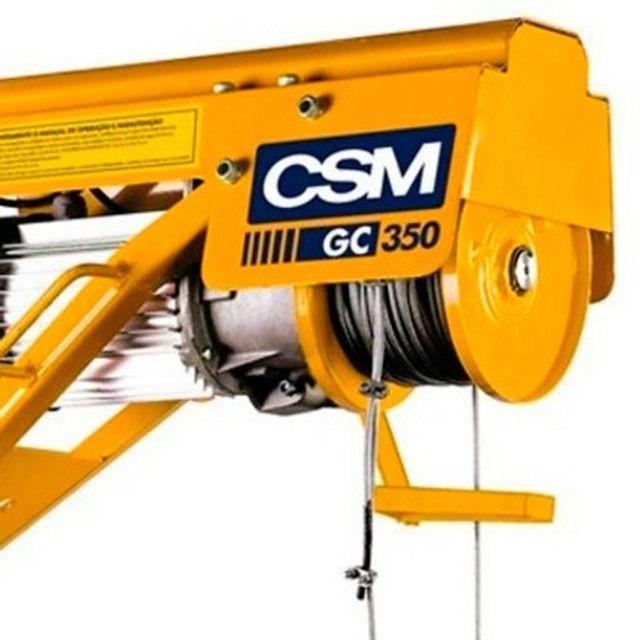 Guincho de coluna capacidade 350 kg monofásico - CSM - Foto 2