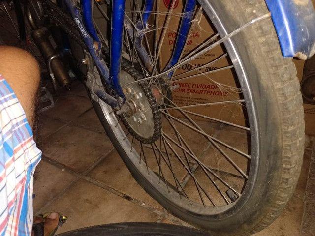 Bicicleta motorizada com a nota  - Foto 2