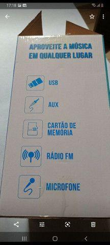 Caixa de som conexão  Bluetooth  Pen  drive  karaoke  alta qualidade