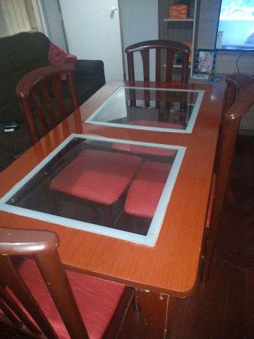Mesa 4 cadeiras - Foto 3