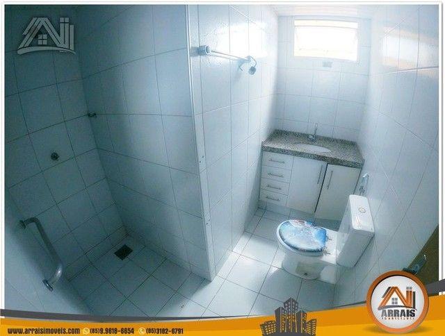 Apartamento com 3 dormitórios à venda, 118 m² por R$ 300.000,00 - Vila União - Fortaleza/C - Foto 7