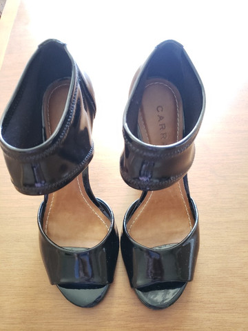 Sapato Preto Verniz Carrano 36 - Foto 3