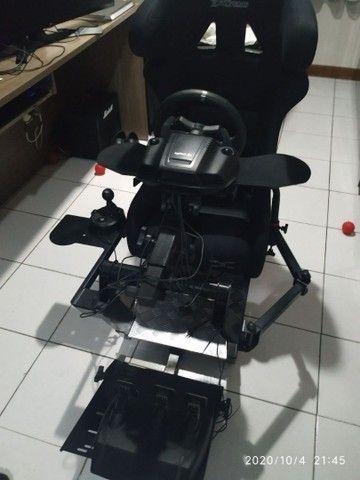 Cockpit extreme p1 estação completA com suporte articulado - Foto 2