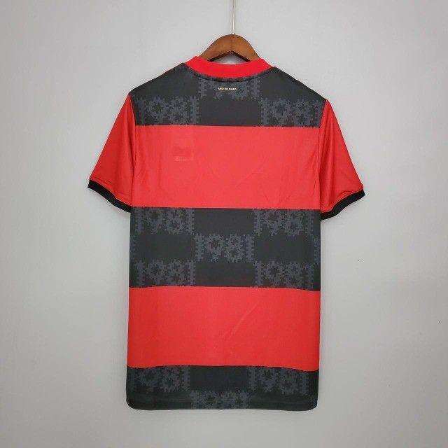 Camisa do flamengo modelo torcedor masculina - Foto 2