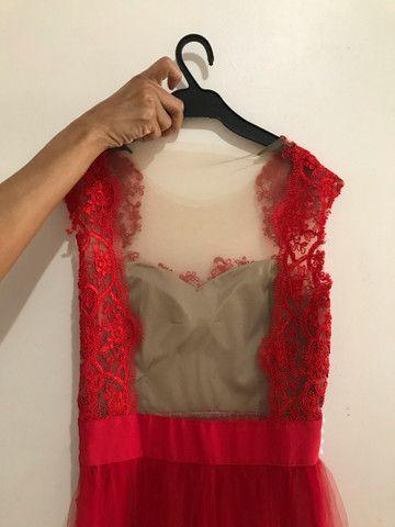 Vestido de Festa Vermelho - Foto 4