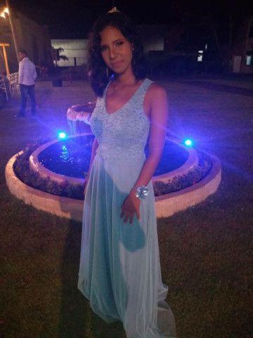 Vestido Madrinha Azul Serenity