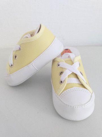 Sapatinhos para bebê/sandálias linha baby - Foto 3