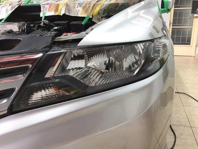 Restauração de faróis e lanternas automotivos com garantia de 1 ano. - Foto 13