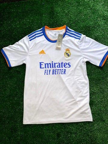 Camisa Real Madrid Home 21/22 - Foto 2