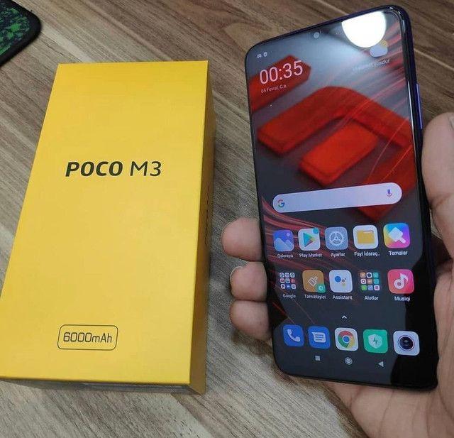 Xiaomi Poco M3 ' Amarelo ' Azul ' Preto ' Dual chip ' Android 10 ' 128 GB - Foto 5