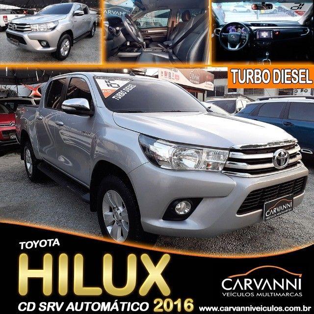Toyota Hilux Cd Srv Automático 2016 Turbo Diesel