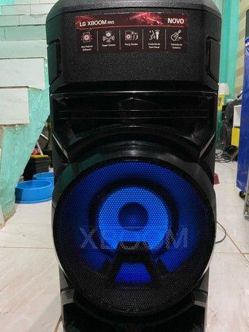 Caixa de som acústica LG Xboom - Foto 2