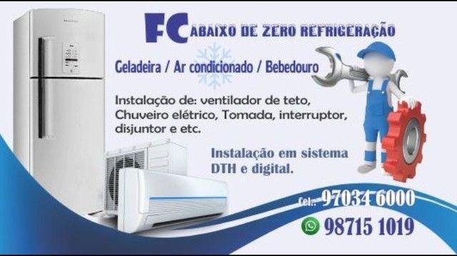 Geladeira / ar-condicionado / bebedouro / máquina de lavar