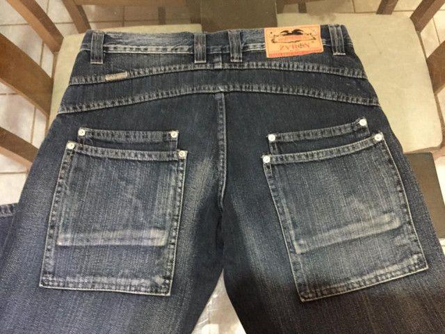 Calça jeans masculina tamanho 44 - Foto 2