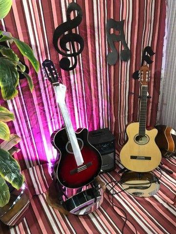 GNF-1D CEQ violão nailon eletroacústico *Promoção!* em até 10x sem juros - Foto 3