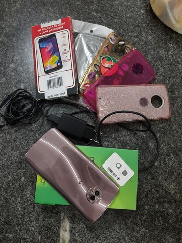 Motorola G6 OURO ROSE, 64gb 4Ram
