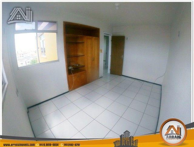 Apartamento com 3 dormitórios à venda, 118 m² por R$ 300.000,00 - Vila União - Fortaleza/C - Foto 5