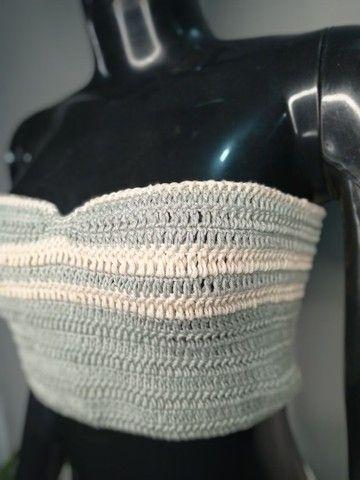 Croped crochê - Foto 6