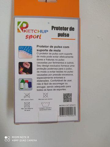 Protetor de punho Ketchup KT-SP4011 neoprene - Foto 2