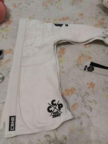 Kimono Combat Corner Branco A1 - Foto 3
