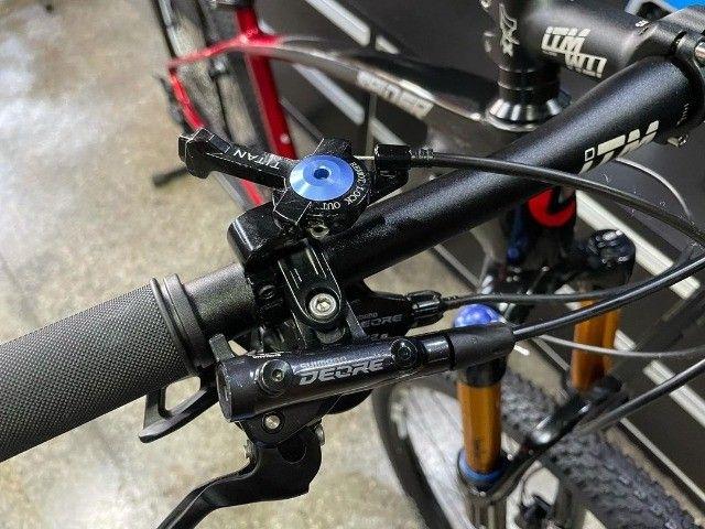 Bicicleta aro 29 Lotus Carbon 2021 nova NF e garantia - Foto 4