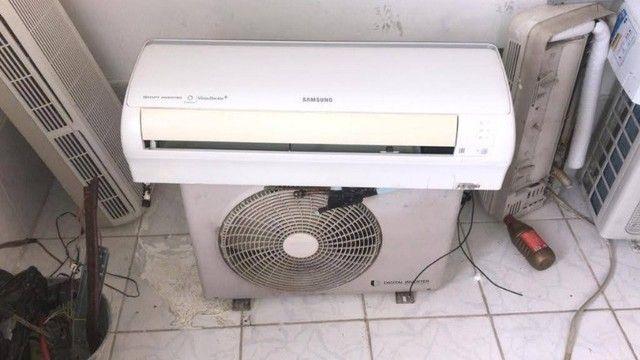 Ar condicionado inverter 9000 BTUs, com instalacao.
