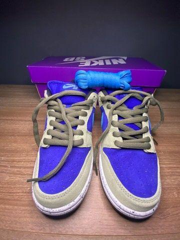 Tênis Nike dunk low celadon  - Foto 4
